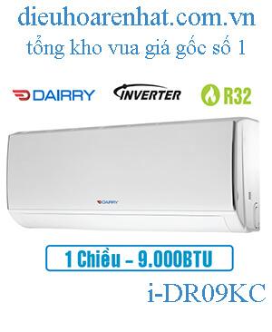 Điều hòa Dairry 9000btu, 1 chiều Inverter I- DR09KC