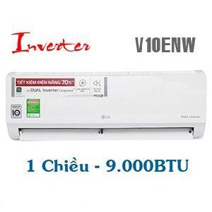 LG V10ENW Điều hòa LG 9000btu inverter 1 chiều