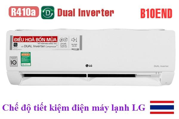Chế độ tiết kiệm điện máy lạnh LG