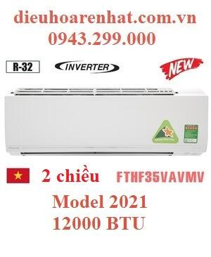 Điều hòa Daikin 2 chiều 12000BTU inverter FTHF35VAVMV