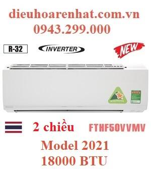 Điều hòa Daikin 2 chiều 18000BTU inverter FTHF50VVMV