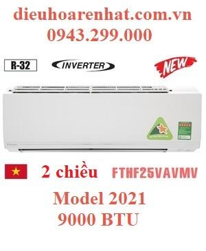 Điều hòa Daikin 2 chiều 9000BTU inverter FTHF25VAVMV