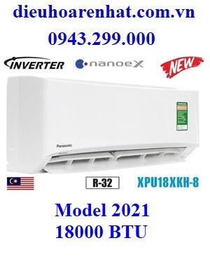 Điều hòa Panasonic 18000 BTU 1 chiều inverter XPU18XKH-8