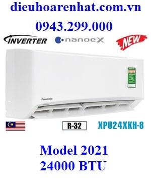 Điều hòa Panasonic 24000 BTU 1 chiều inverter XPU24XKH-8