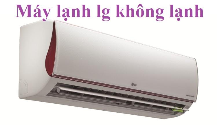 Máy lạnh lg không lạnh