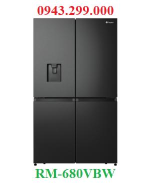 Tủ lạnh Casper 4 cửa 645 lít inverter RM-680VBW