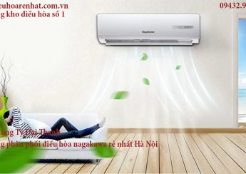 máy lạnh nagakawa có mùi hôi do lắp đặ sai kỹ thuật
