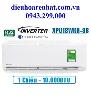 Điều hòa Panasonic 18000BTU 1 chiều inverter XPU18WKH-8B