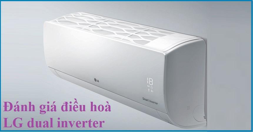 Đánh giá điều hoà LG dual inverter