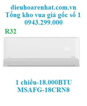 Điều Hòa Midea 1 Chiều 18.000BTU MSAFG-18CRN8