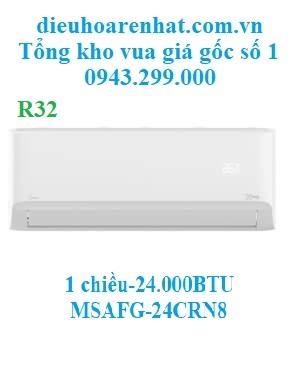 Điều Hòa Midea 1 Chiều 24.000BTU MSAFG-24CRN8