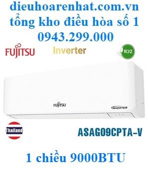 Điều hòa Fujitsu 9000BTU 1 chiều inverter ASAG09CPTA-V