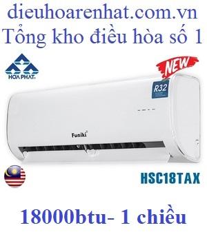 điều hòa funiki 18000 BTU 1 chiều hsc18tax