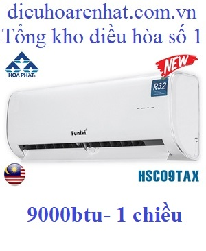 điều hòa funiki 9000 BTU 1 chiều hsc09tax