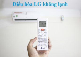 Điều hòa LG không lạnh