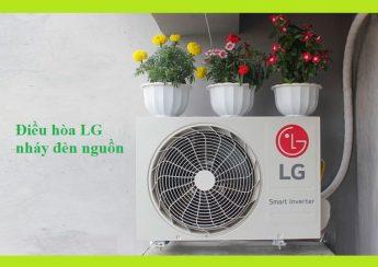 Điều hòa LG nháy đèn nguồn