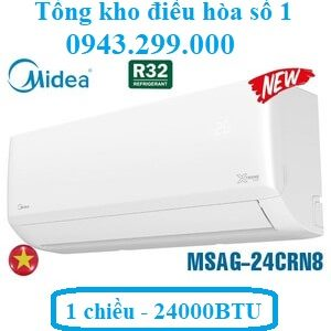 Điều hòa Midea 24000 BTU 1 chiều MSAG-24CRN8