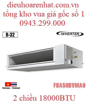 Điều hòa âm trần nối ống gió 18000BTU Daikin 2 chiều inverter FBA50BVMA9/RZA50DV2V