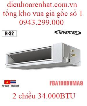 Điều hòa âm trần nối ống gió 34000BTU Daikin 2 chiều inverter FBA100BVMA9/RZA100DV1