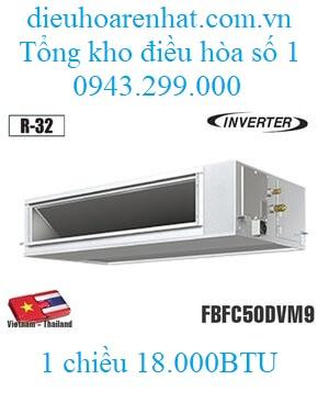 Điều hòa âm trần nối ống gió Daikin 18.000BTU 1 chiều inverter FBFC50DVM9/RZFC50DVM