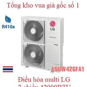 Điều hòa multi LG 2 chiều 42000BTU A5UW42GFA1