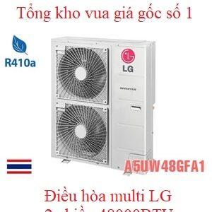 Điều hòa multi LG 2 chiều 48000BTU A5UW48GFA1