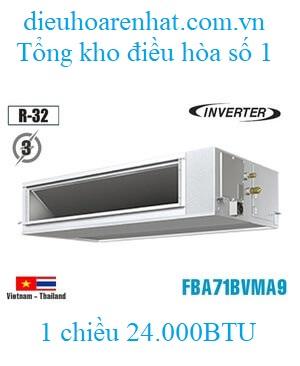 Điều hòa nối ống gió Daikin 24000BTU inverter 1 chiều 3 Pha FBA71BVMA9/RZF71CYM