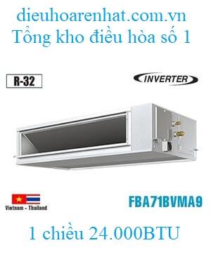Điều hòa nối ống gió Daikin 24000BTU inverter 1 chiều FBA71BVMA9/RZF71CV2V