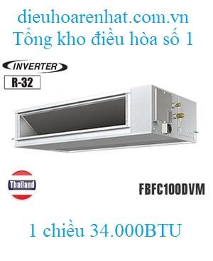Điều hòa nối ống gió Daikin 34.000BTU inverter 1 chiều FBFC100DVM