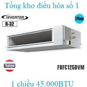 Điều hòa nối ống gió Daikin 45.000BTU inverter 1 chiều FBFC125DVM