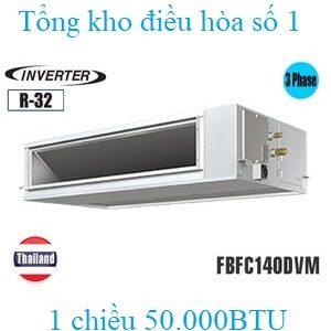 Điều hòa nối ống gió Daikin 50.000BTU inverter 1 chiều FBFC140DVM