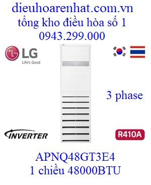 Điều hòa tủ đứng LG 48000BTU 3 Pha APNQ48GT3E4 AUUQ48LH4