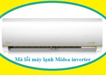 Mã lỗi máy lạnh Midea inverter