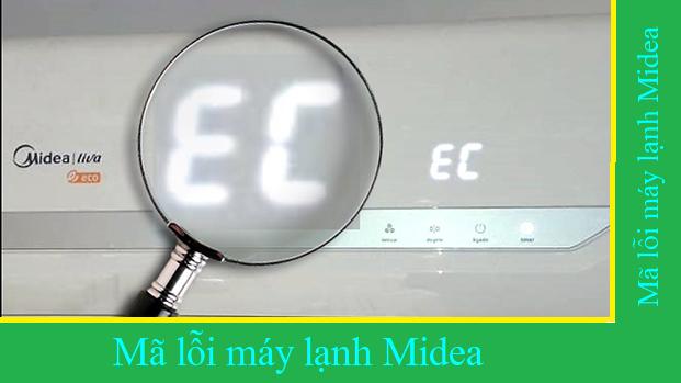 Mã lỗi máy lạnh Midea