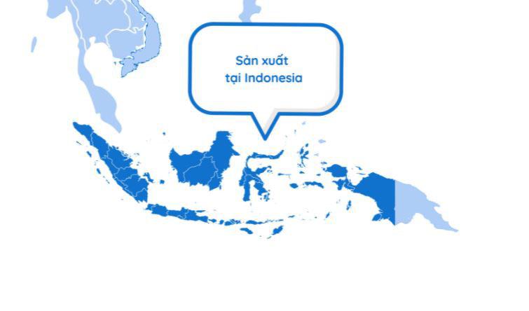 điều hòa với thương hiệu Hàn Quốc được sản xuất tại Indonesia