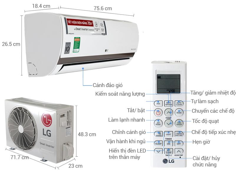 điều hòa LG 9000
