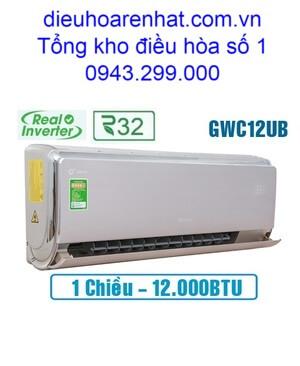 Điều hòa 1 chiều Gree inverter 12.000BTU GWC12UB-S6D9A4A