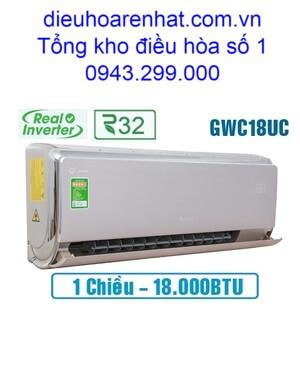 Điều hòa 1 chiều Gree inverter 18.000BTU GWC18UC-S6D9A4A