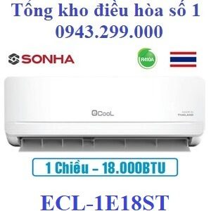 Điều hòa EcooL 18000BTU 1 chiều ECL-1E18ST