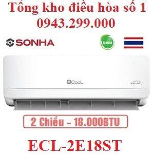 Điều hòa EcooL 18000BTU 2 chiều ECL-2E18ST