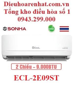 Điều hòa EcooL 9000BTU 2 chiều ECL-2E09ST