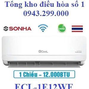 Điều hòa Ecool 1 chiều 12000BTU wifi ECL-1E12WF