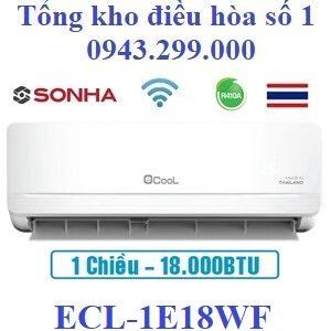 Điều hòa Ecool 1 chiều 18000BTU wifi ECL-1E18WF