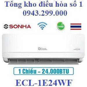 Điều hòa Ecool 1 chiều 24000BTU wifi ECL-1E24WF