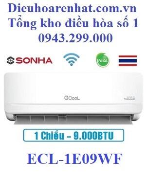 Điều hòa Ecool 1 chiều 9000BTU wifi ECL-1E09WF