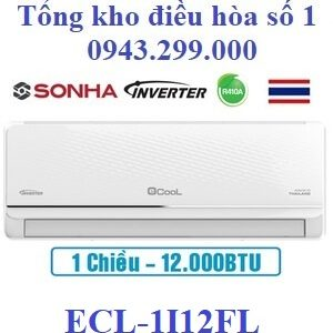 Điều hòa Ecool inverter 12000BTU 1 chiều ECL-1I12FL