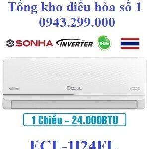 Điều hòa Ecool inverter 24000BTU 1 chiều ECL-1I24FL