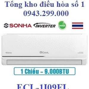 Điều hòa Ecool inverter 9000BTU 1 chiều ECL-1I09FL