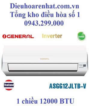 Điều hòa General 12000 BTU inverter 1 chiều ASGG12JLTB-V
