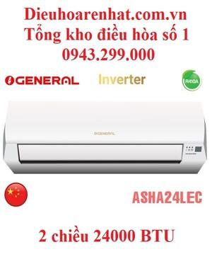 Điều hòa General 24000BTU 2 chiều inverter ASHA24LEC